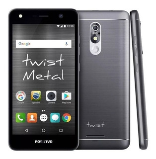 Celular Smartphone Positivo Twist Metal S511 16gb 8mp Anatel