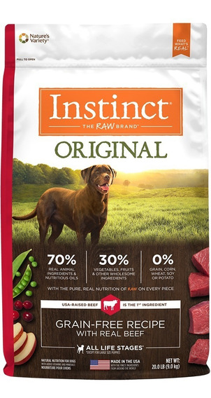 Croquetas Instinct Res 9 Kg Para Perros