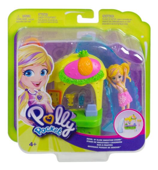 Polly Pocket, Stand De Smoothies Quiosco De Piña