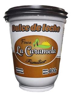 Dulce De Leche Familiar Finca La Caramela 400 Gramos Cuotas