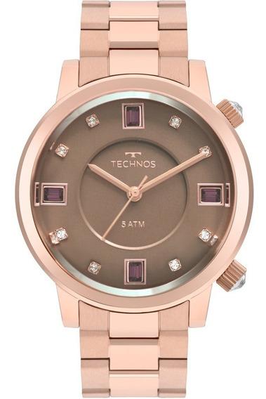 Relógio Technos Feminino Crystal 2039bv/4m