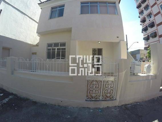 Casa Comercial Com Vaga Para Alugar, 100 M² Por R$ 2.950/mês - Centro - Niterói/rj - Ca0034