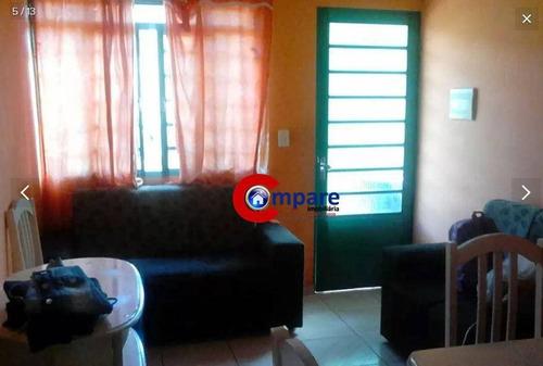 Casa Sobreposta Com 2 Dormitórios À Venda, 43 M² Por R$ 170.000 - Jardim Cumbica - Guarulhos/sp - Ca1085