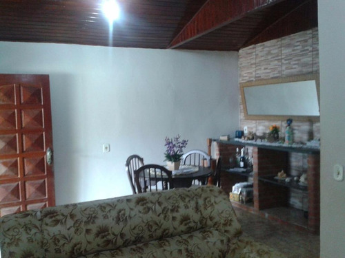 Casa Residencial À Venda, Balneário Itaguaí, Mongaguá. - Ca0361