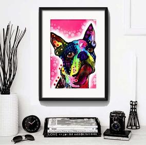 Quadro Cachorro Pop Art Varias Racas Decor Pet Shop Paspatur