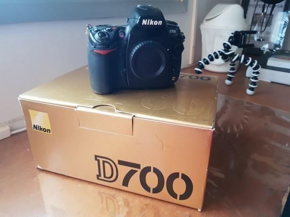 Camera Nikon D700 Na Caixa
