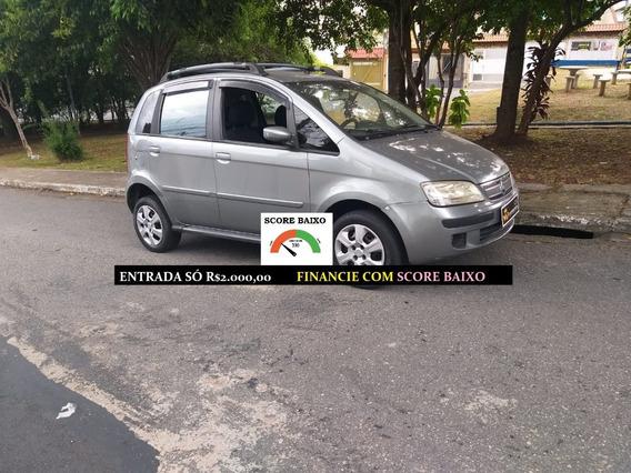 Fiat Idea Completa-ar Financiamento Com Score Baixo Financio
