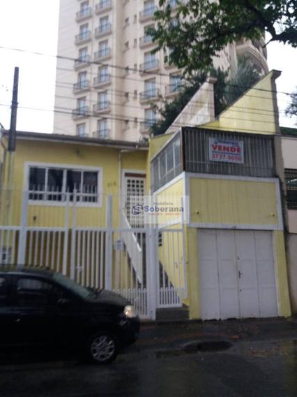 Casa À Venda No Cambui 171 M² Por R$ 920.000 - Campinas/sp - Ca3417