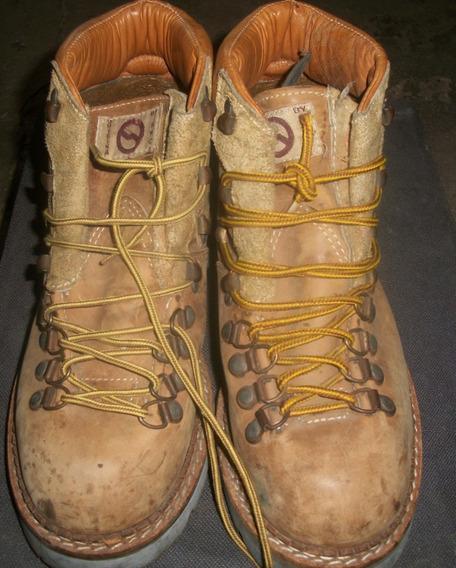Zapato Borcegos By Anca Industria Argentina Usados