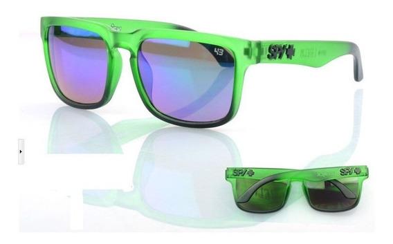 Óculos Esportivo Azul Espelhado Uv-400