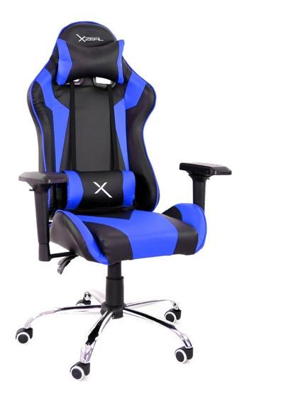 Silla Gamer Ergonomica Reclinable 200kg Xzeal Gaming Stylos