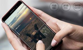 Celular Homtom S12 Blackred Dual Chip 8 Gb (1gb Ram) Hd
