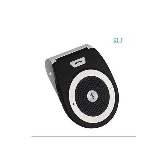 Altavoz Inalámbrico Para Coche Receptor Bluetooth Visera Sol