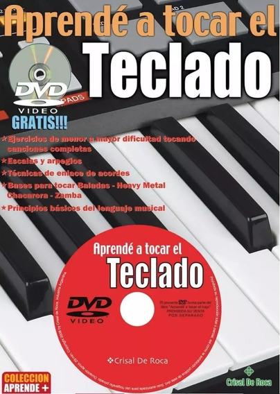 Libro Metodo Enseñanza De Teclado C/cd Flash Musical Envios