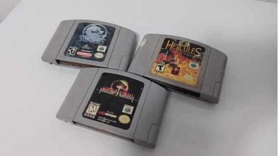 3 Jogos Originais De Nintendo 64