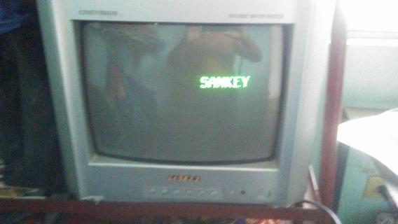 Vendo Tv. De 14 Sankey Usada Como. Nuevo Con Control 25 $