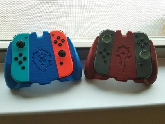 Suporte Controle Nintendo Switch Com Logo (01)