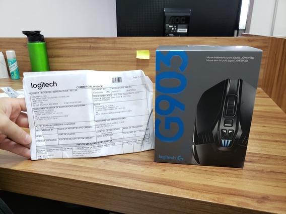Mouse Logitech G903 Wireless Lightspeed Rgb 12k Dpi Novo