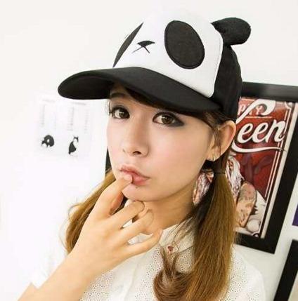 Gorra Panda Unisex Cute Kawaii Oso Sombrero Nuevo Japon E.g