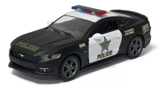 Miniatura Mustang Gt Polícia,, 2015, Escala1/32