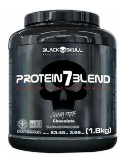 Whey Protein 7 Blend - 1800g Chocolate - Black Skull