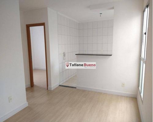 Apartamento Com 2 Dormitórios À Venda, 44 M² Por R$ 148.000 - Parque Novo Horizonte - São José Dos Campos/sp - Ap2412
