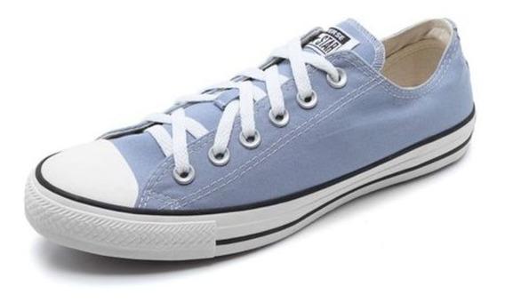 Tênis All Star Converse Cor Azul Claro Cano Baixo - 2414