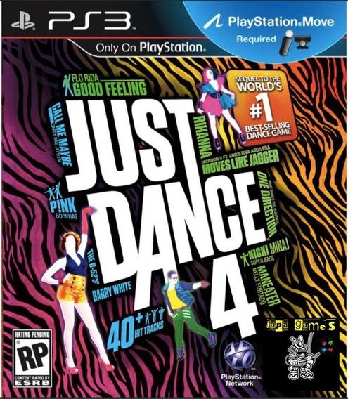 Just Dance 4 Jogos Ps3 Psn Original Receba Hoje