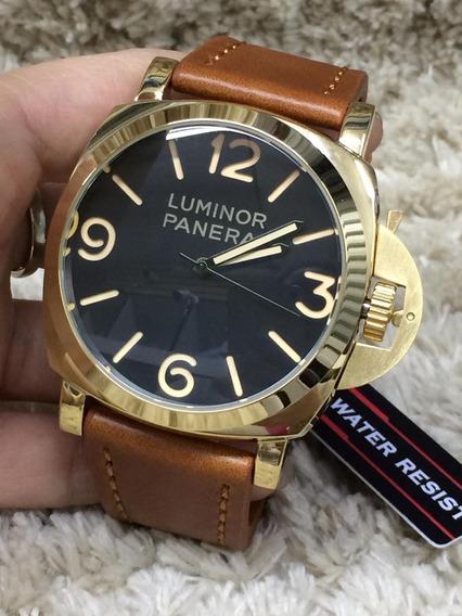 Relógios Masculinos Panerai Relógios De Luxo Dourado