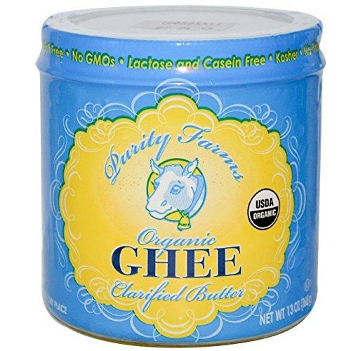 Purhe Farms Organic Clarified Butter Ghee, 13 Onzas - 3 Por