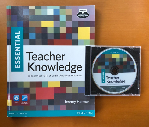 Livro + Dvd Essential Teacher Knowledge Ensino Inglês Elt