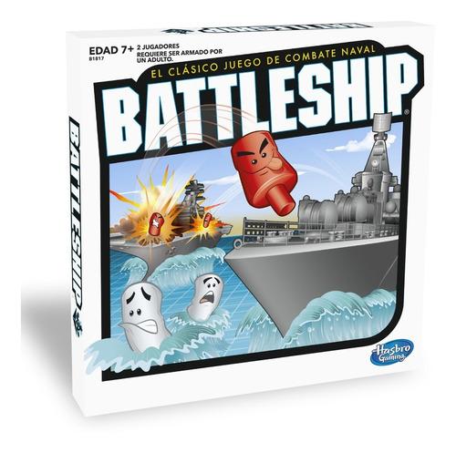 Juego De Mesa Battleship Hasbro Gaming