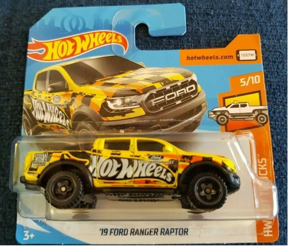 Miniatura Hot Wheels 19 Ford Ranger Raptor Série Hot Trucks