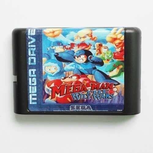 Mega Man The Wily Wars Em Português Mega Drive Genesis