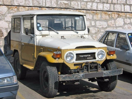 Manual Taller Toyota Land Cruiser (1960-1984) Español