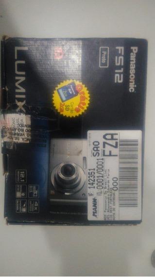Câmera Panasonic Dmc-fs12