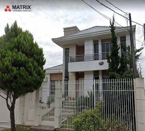 Casa Com 5 Dormitórios À Venda, 500 M² Por R$ 2.350.000,00 - Capão Raso - Curitiba/pr - Ca0064