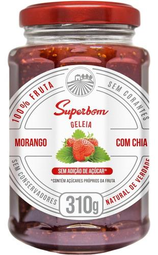Geleia De Morango Com Chia 310g - Superbom