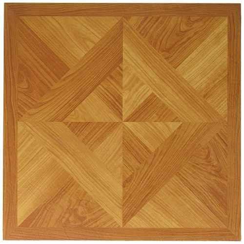 Mintcraft Cl7120 Vinyl Floor Tile Wood Weave