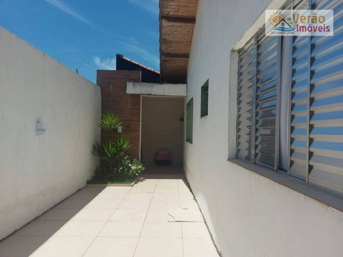 Casa Com 2 Dormitórios À Venda, 71 M² Por R$ 180.000,00 - Jardim Belas Artes - Itanhaém/sp - Ca0838