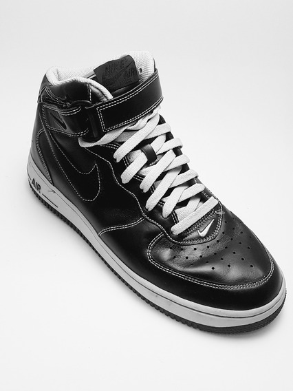 Zapatilla Nike Air Force High Negras Excelente Estado Hombre