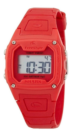Relógio Freestyle Fs81262 Digital Shark Classic Solid Red