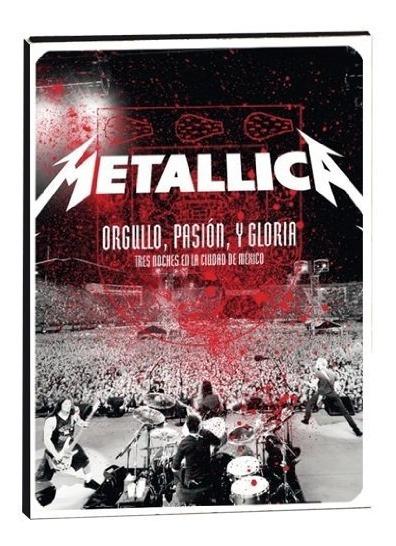 Dvd : Metallica - Orgullo, Pasion Y Gloria: Tres Noches ...