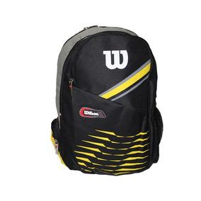 Mochila Esportiva Preto/amarelo Wilson - Wtix12250b