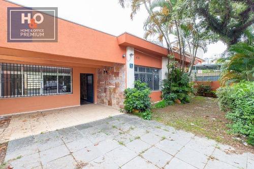 Casa Com 4 Dormitórios 1 Suíte À Venda, 310 M² - Campo Belo - São Paulo/sp - Ca0304