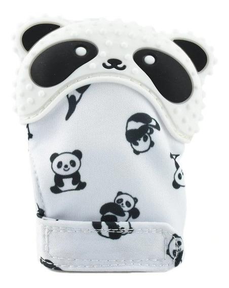 Bebê Recém Nascido Luca Panda Mordedor Presente Brinquedo