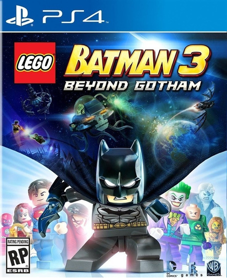 Jogo Novo Lego Batman 3 Beyond Gotham Para Playstation 4 Ps4