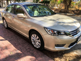 Honda Accord 3.5 Ex-l Sedan Piel Abs Qc Cd Nav Cvt