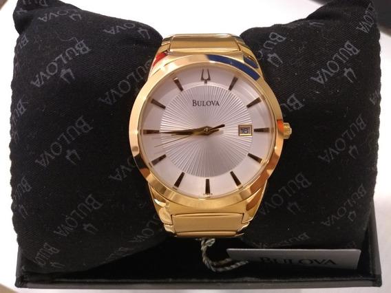 Relogio Bulova Slim C960815 Dourado ,impecavel,