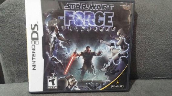 Star Wars Force Unleashed Nintendo Ds Original Completo